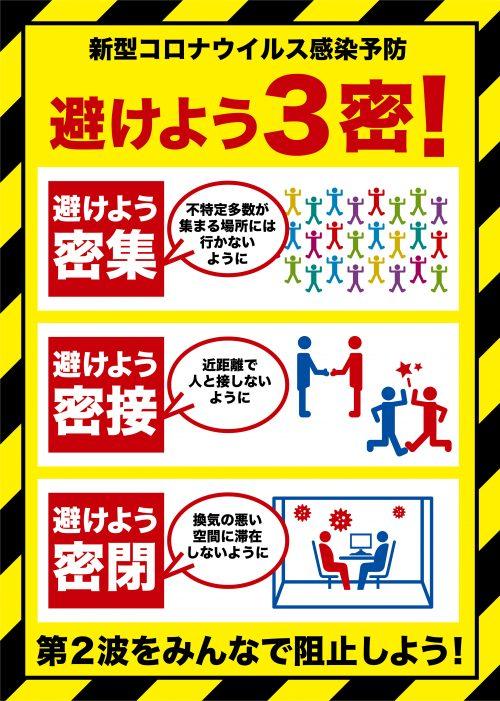 新型コロナウイルス感染予防対策ポスター01